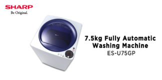 Sharp Washing Machine - Property Finds Asia