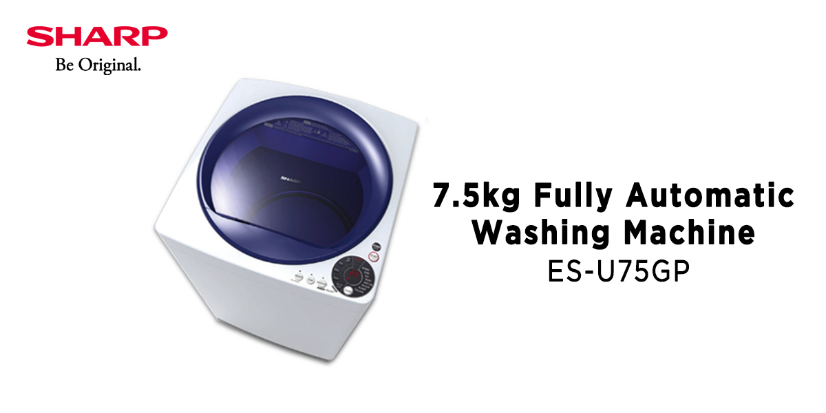 Sharp Washing Machine - Property Finds Asia