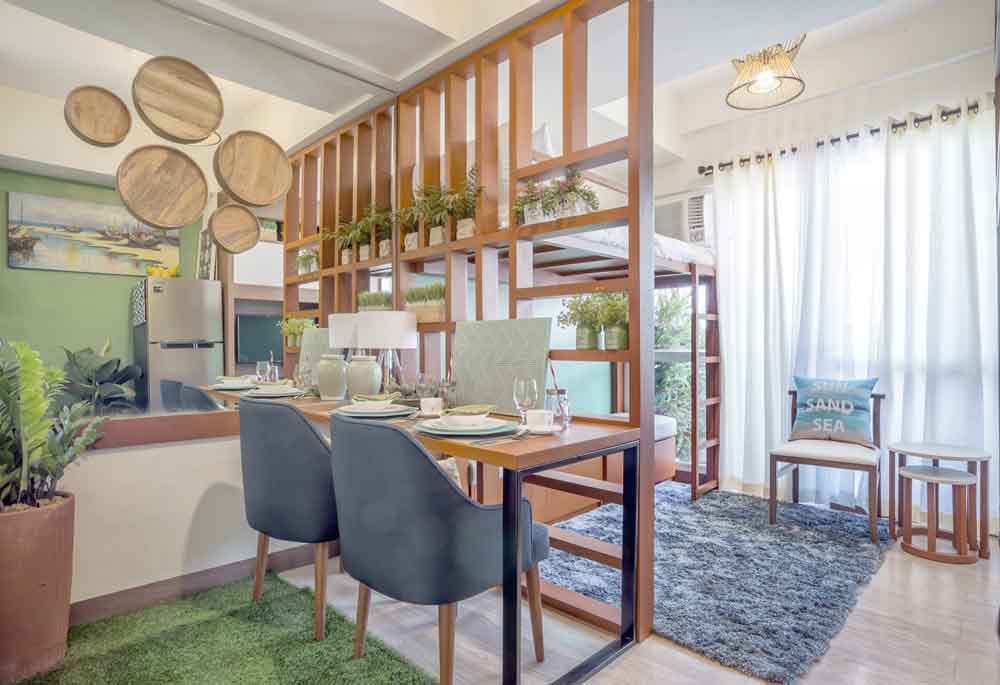 Dining Area, studio unit