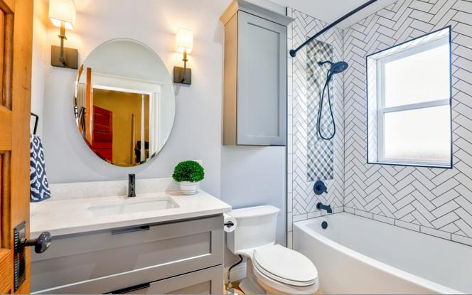 Bathroom Vintage-Style
