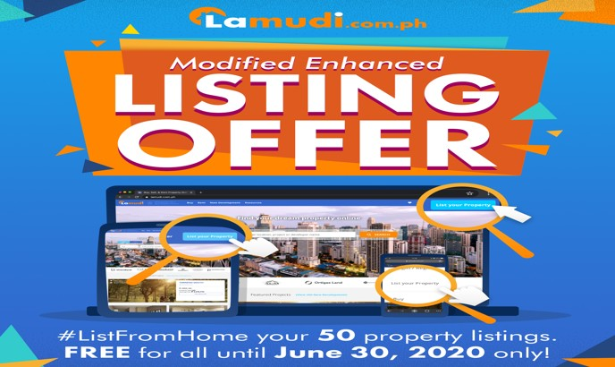 Lamudi Gives Free Aid to Brokers in Modified Enhanced Listing Offer 2020 - Property Finds Asia